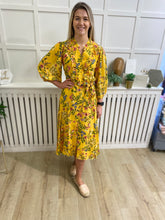 Load image into Gallery viewer, Bella Yellow Dress