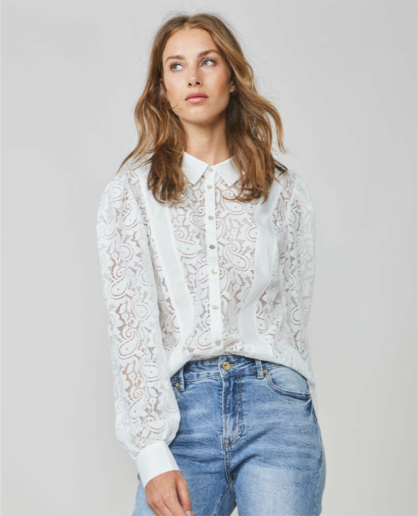 Suzie Lace Shirt