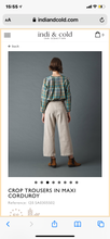 Load image into Gallery viewer, Wide Crop Trousers