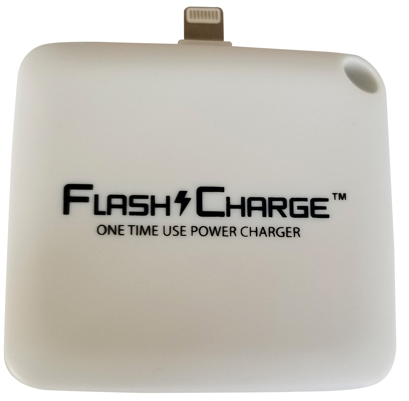 FlashCharge Disposable Power Bank (1000mAh) Emergency Charger