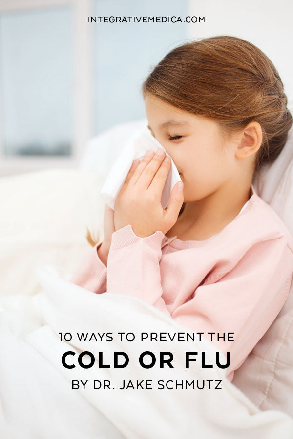 10 ways to prevent the cold or flu