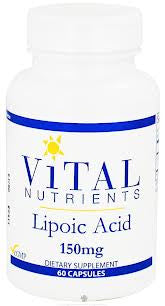Alpha Lipoic Acid 150mg 60c