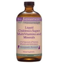 Liquid Childrens Super MultiVitamins & Minerals 16oz