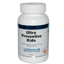 Ultra Preventive Kids (Chewable) Grape flavored 60t