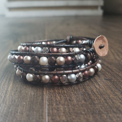 Copper Wrap Bracelet