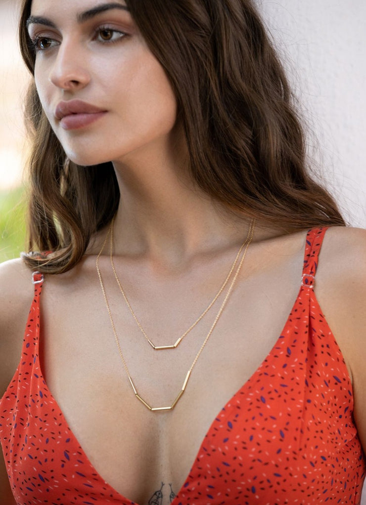 Bare Instincts Layered Necklace