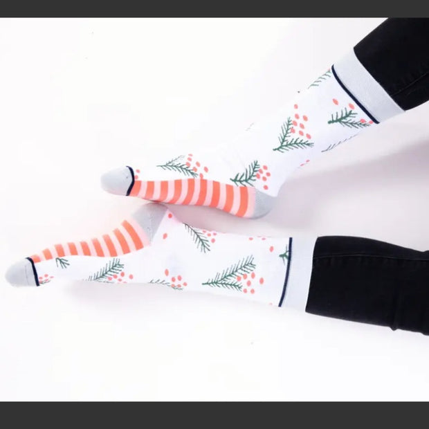 Under the Mistletoe Crew Socks