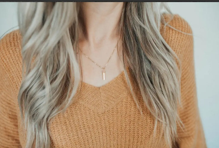 Aligned Necklace