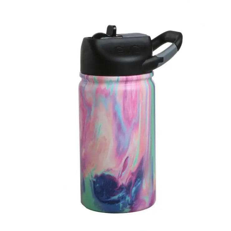 Cotton Candy Stainless Steel Kids Water Bottle - 12oz