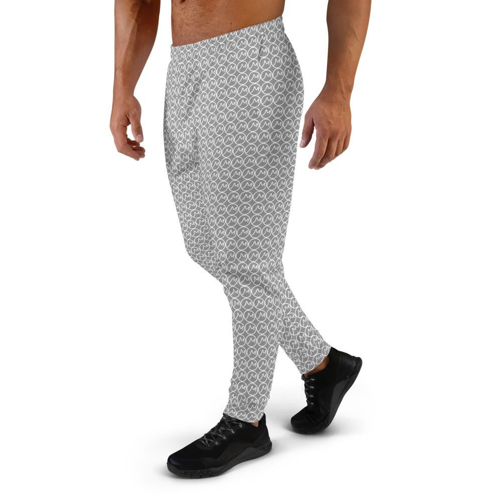 Men's Grey M Pattern Joggers - Actual Intervention