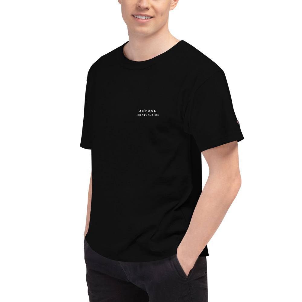 Men's Champion Collab T-Shirt - Actual Intervention