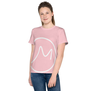 Youth T-Shirt pink Giant M - Actual Intervention