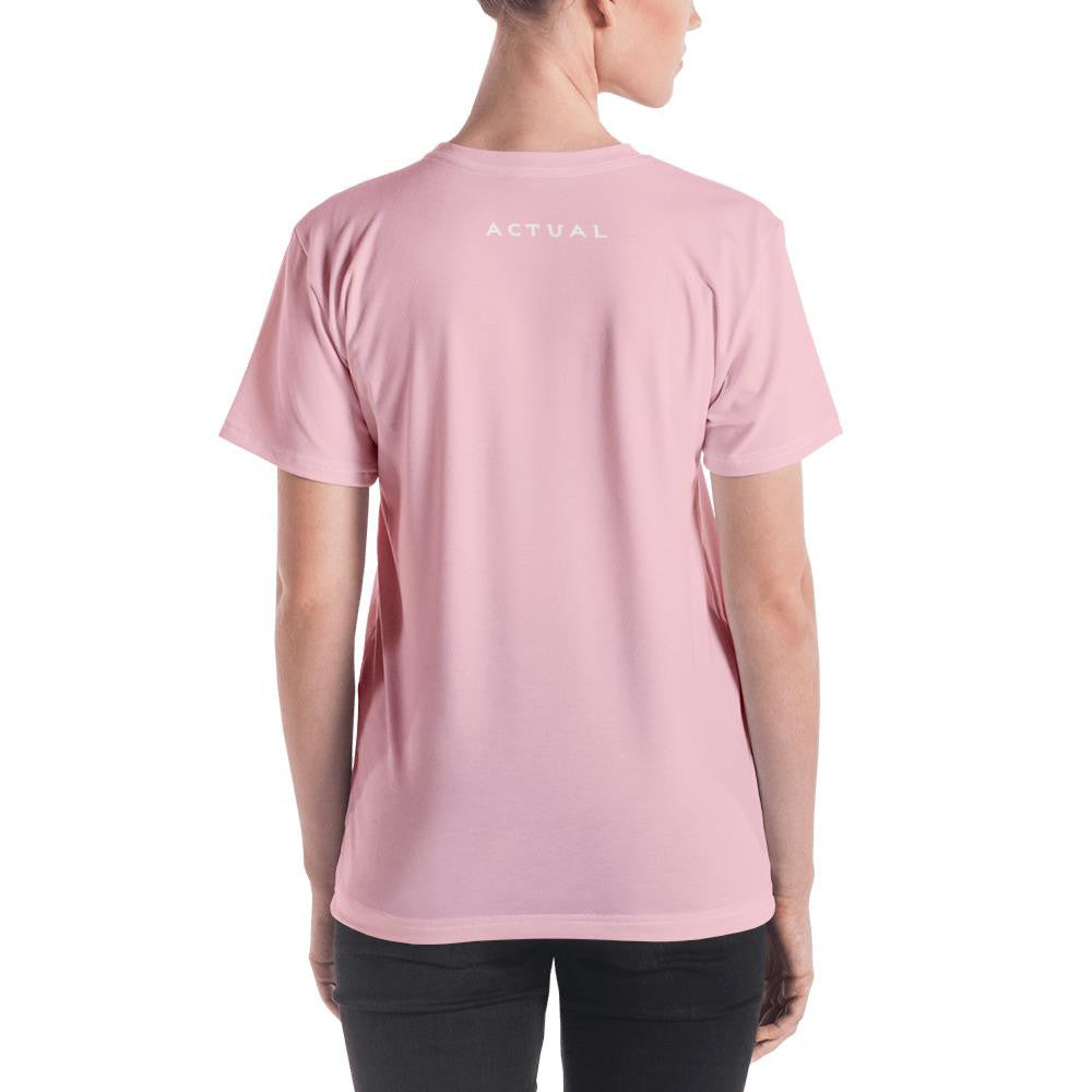 Actual Candy  T-shirt Pink - Actual Intervention