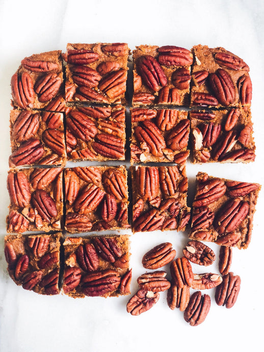 Grain-Free Pumpkin Pecan Bars