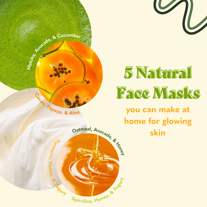 5 Natural Face Mask Recipes for Glowing Skin