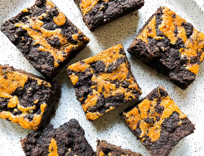Dreamy Chocolate Tahini Brownies