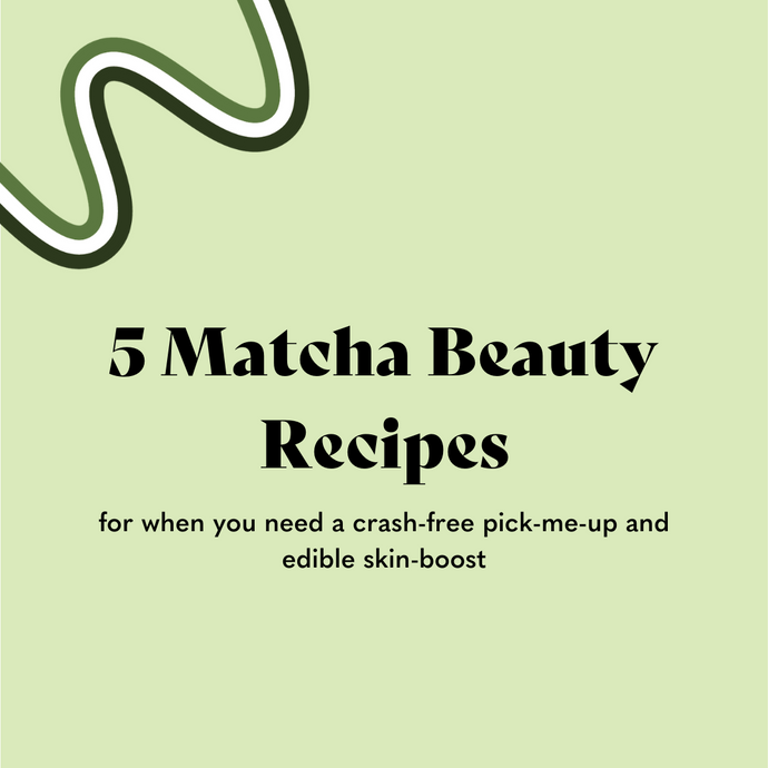 5 Easy and Delicious Recipes Using Matcha Beauty Collagen Boost Powder