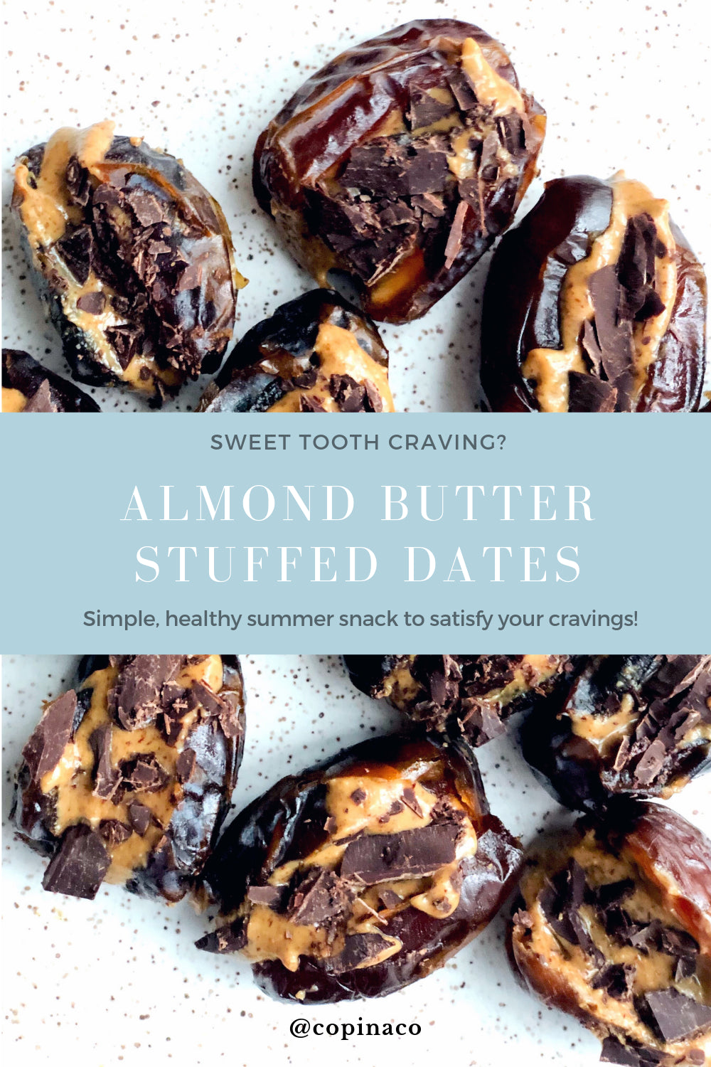 Dates recipes with Copina Co
