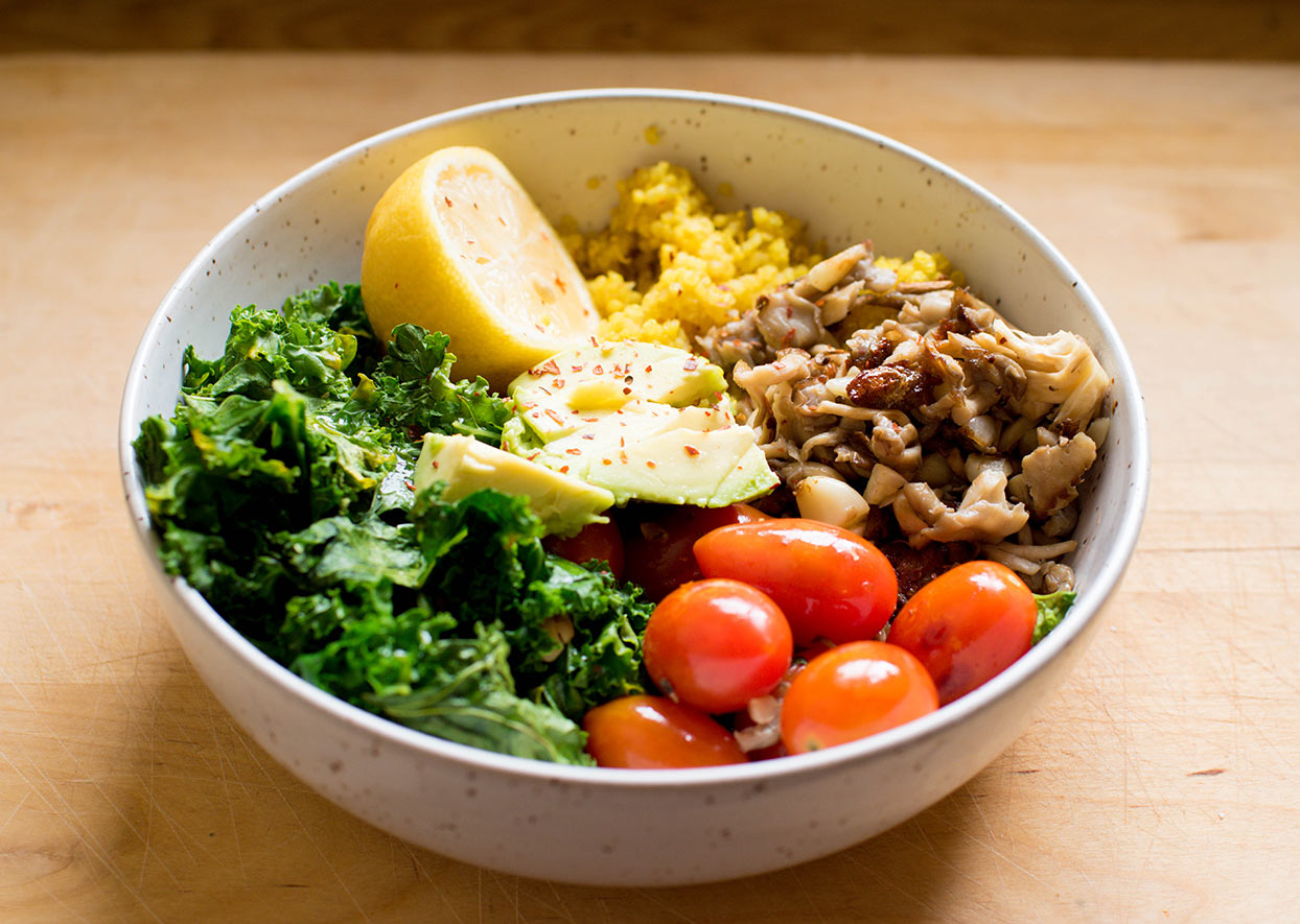 Veggie breakfast bowl
