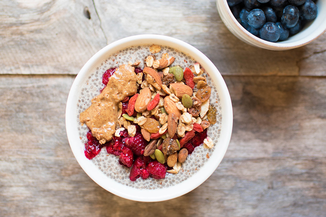 Chia Pudding with superfoods