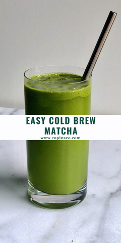 Copina Co. Cold Brew Matcha Recipe
