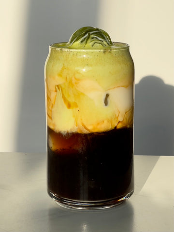 Brown Sugar Shaken Matcha Coffee
