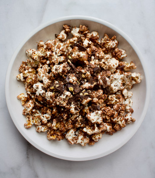 Chocolate Beauty Popcorn