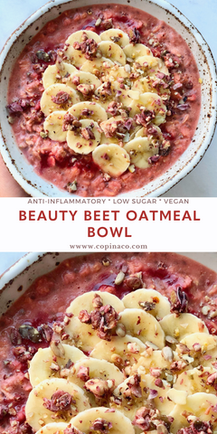 Beauty Beet Oatmeal Copina Co.