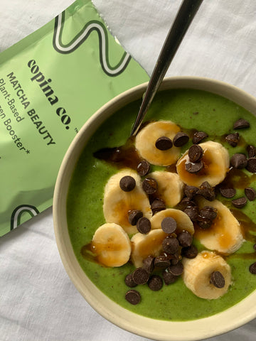 Matcha Mint Chip Smoothie Bowl