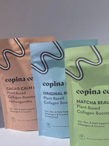 Plant-Based Collagen Boost Drink Powder Variety Pack (orders shipping in mid to late January 2021)