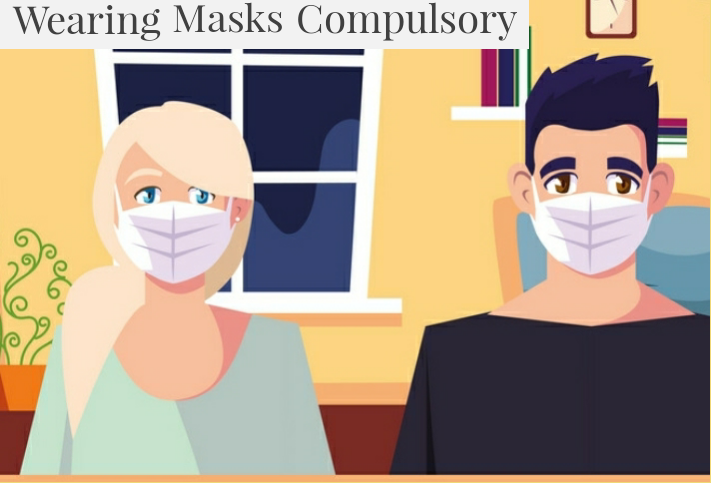 Wearing Masks Compulsory