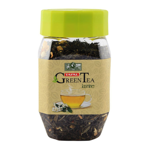 Green Tea Jasmine 100 gm (Jar)