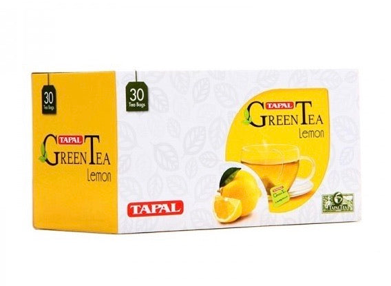 Green Tea With Lemon Flavor (30 Tea Bags) - Qar 9