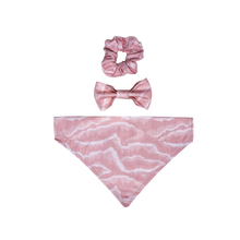 Load image into Gallery viewer, Pink Marble Scrunchie