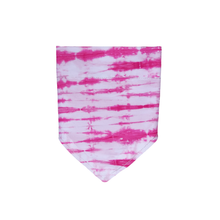 Load image into Gallery viewer, Pink Tie Dye Bandana