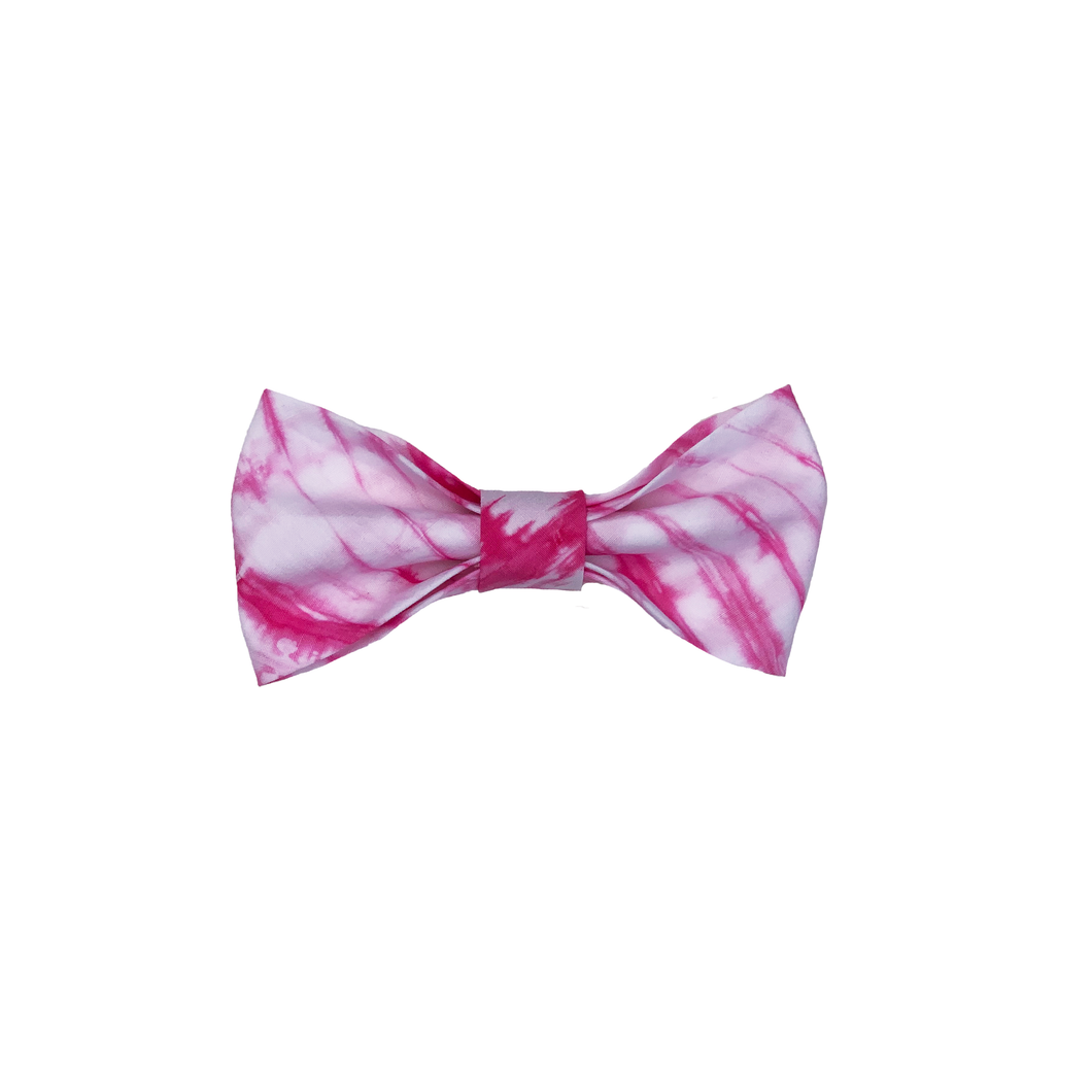 Pink Tie Dye Bow
