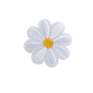 Flower Embroidered Patch