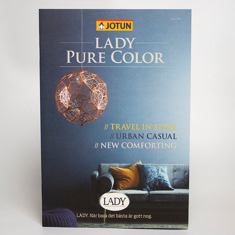 Broschyr Lady - Pure color 2013