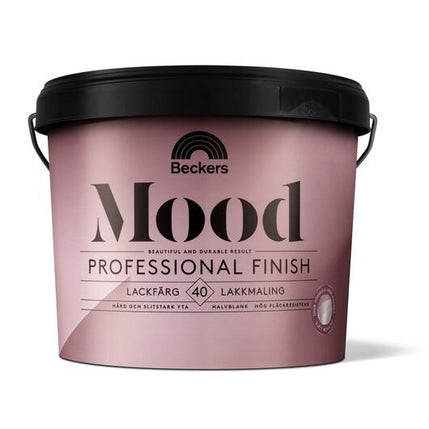 Beckers Mood Pro Finish Lackfärg 40 Baser