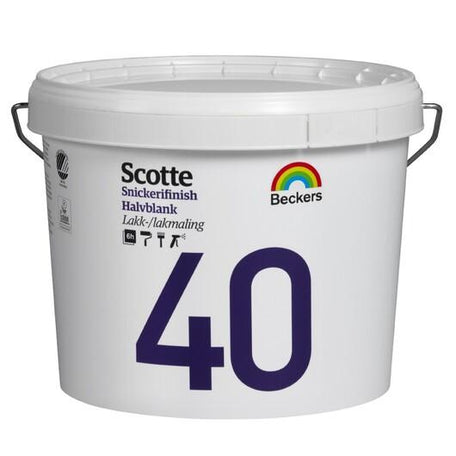 Beckers Scotte 40 Snickerifinish Baser