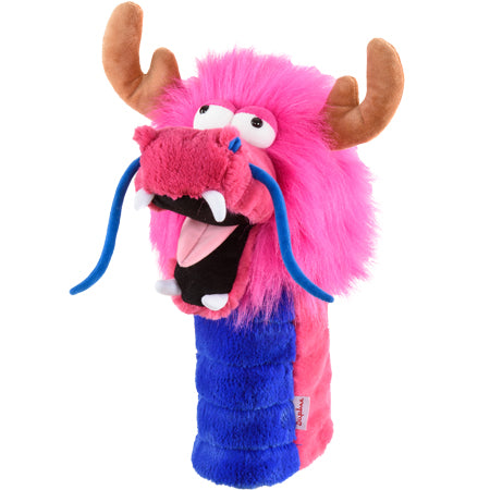 DAPHNE'S HEADCOVER - PINK DRAGON