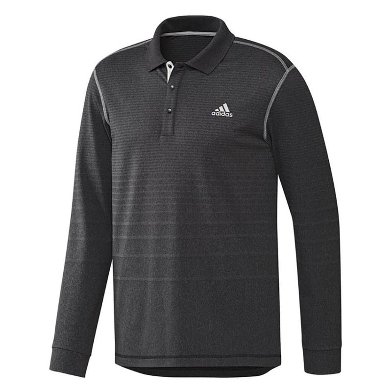 adidas - Long Sleeve Thermal Polo