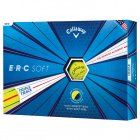 CALLAWAY ERC SOFT TRIPLE TRACK GOLF BALLS YELLOW - 12 PACK