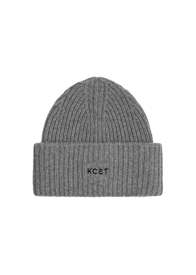 The Beanie - Mid Grey