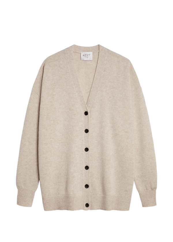 The Cozy Cardigan - Oatmeal