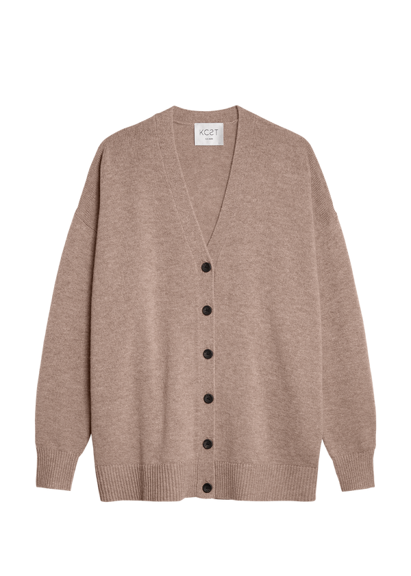 The Cozy Cardigan - Wheat