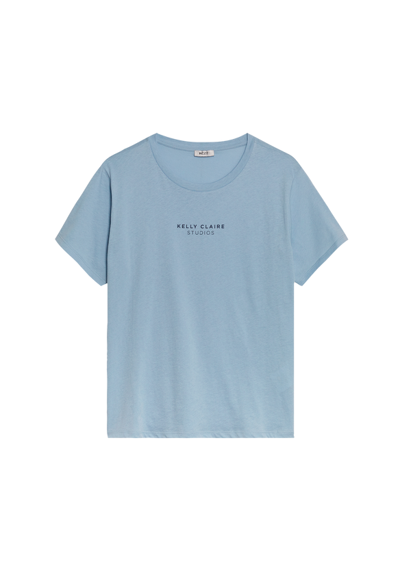 The Kelly Claire Studios Tee - Light Blue