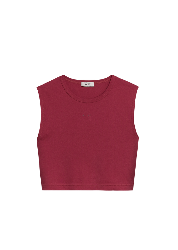 The Muscle Tee - Maroon