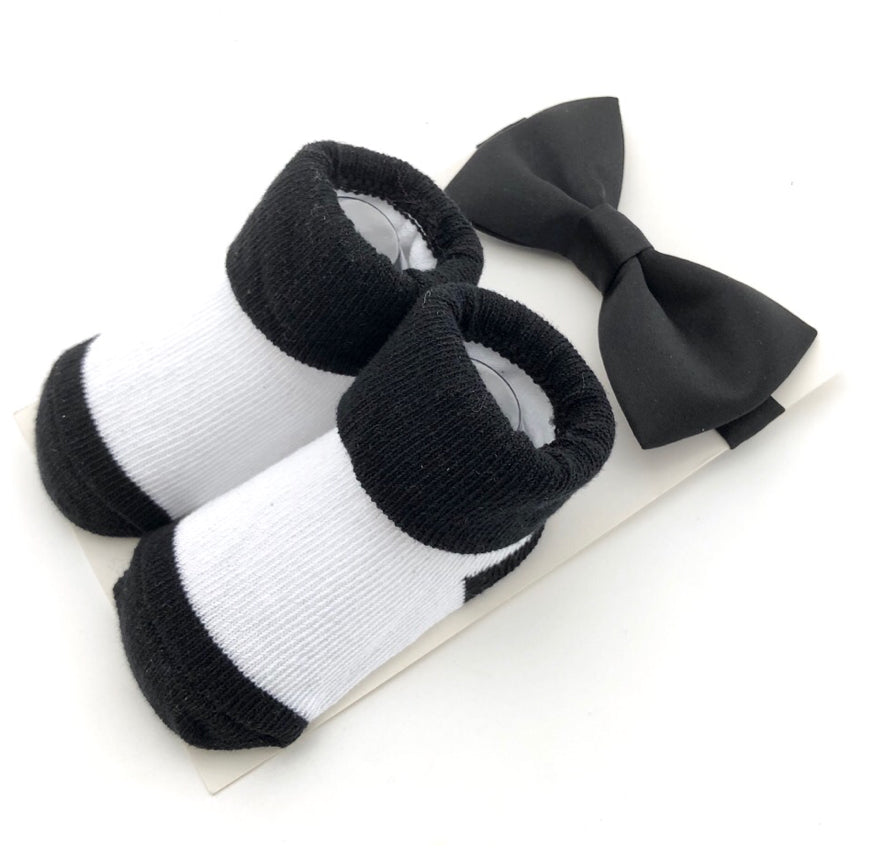 Baby Gift Pack Bow tie and Socks