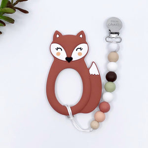 Teethers Clips -Little Cheeks